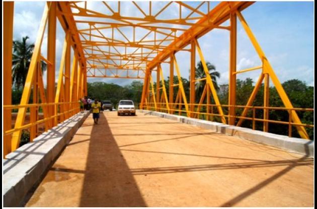 Hace una semana fue habilitado el puente sobre el río San Jorge