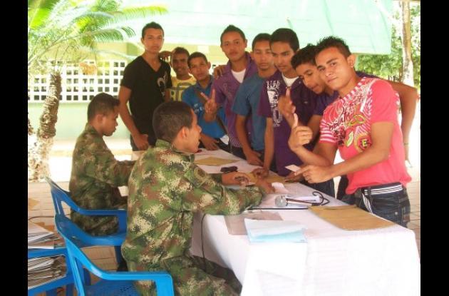 convocatoria del Ejército Nacional