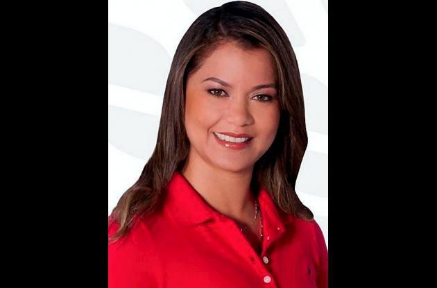 Katia Paz Durango, candidata Liberal a la Alcaldía de La Apartada.