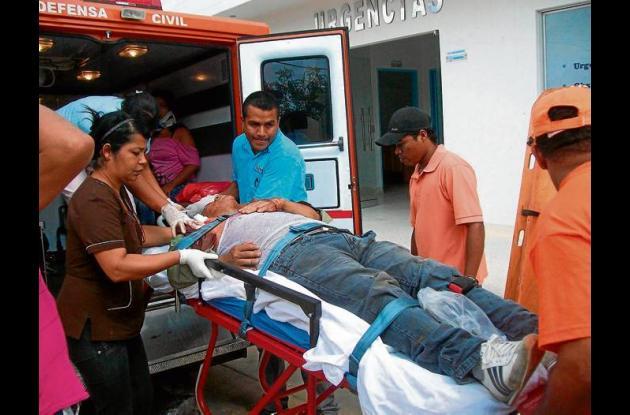 Dos accidentes dejan ocho heridos en región del San Jorge