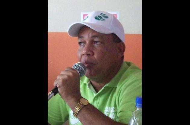 José Aguirre, candidato a la Alcaldía de Planeta Rica por Afrovides.