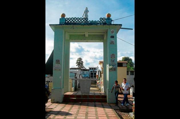 Morgue ubicada en el cementerio de Montelíbano