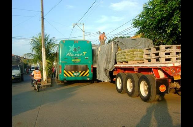 La Alcaldía de Montelíbano estableció horas para la carga y descarga