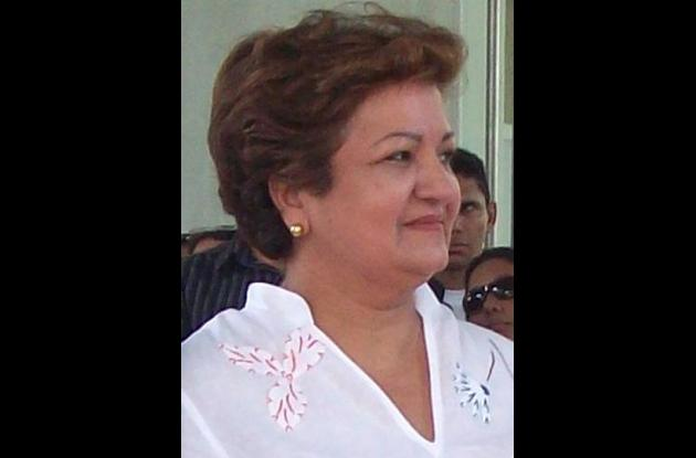 Marta Sáenz, gobernadora de Córdoba.