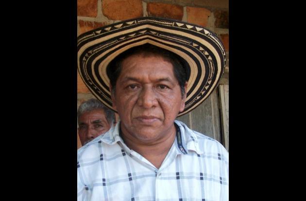 Jorge Chica Alean, gobernador Indígena del Cabildo Tierra Santa.
