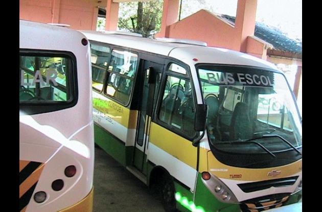 Transporte gratuito para escolares,