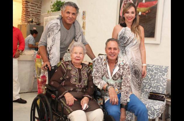 En la casa de Hernán Zajar