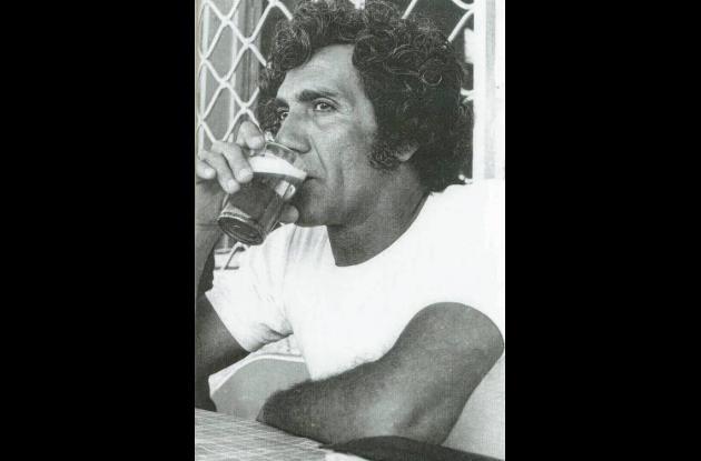 Una de las últimas fotos de Álvaro Cepeda en 1972