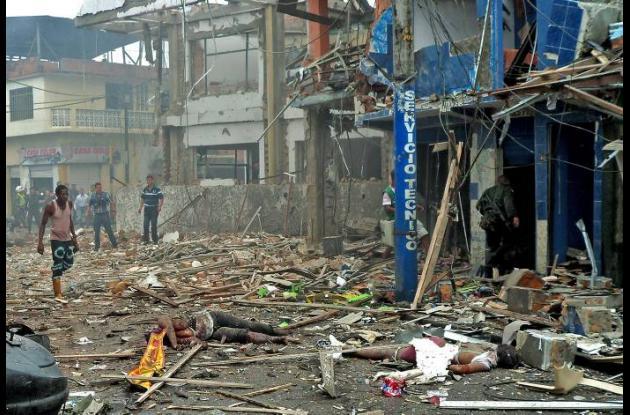 Atentado estación policía Tumaco dejó 7 muertos