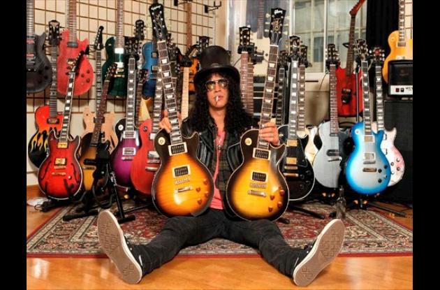 Slash, símbolo de la historia del heavy metal
