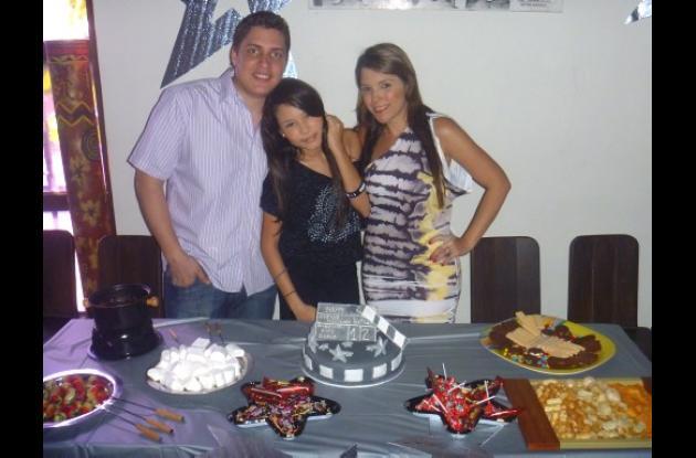 Cumpleaños de Camila Doria