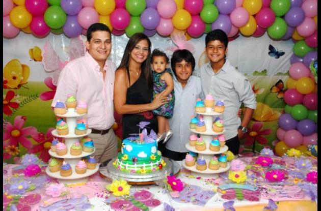 Cumpleaños de Isabella Pérez