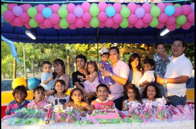 Cumpleaños de Sara Arrieta