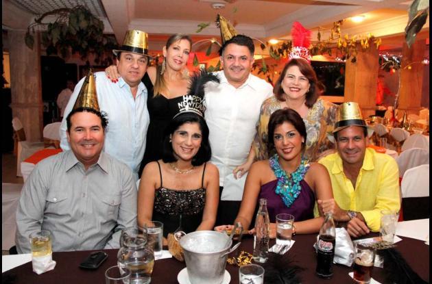 Fiesta  en el Club Cartagena