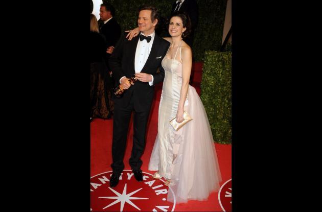 Colin Firth y su esposa, Livia Giuggioli