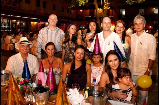 Fiesta en la Plaza de Santo Domingo
