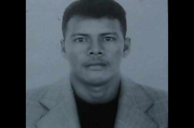 William Rafael Díaz, vendedor de pescado asesinado ayer en Planeta Rica.