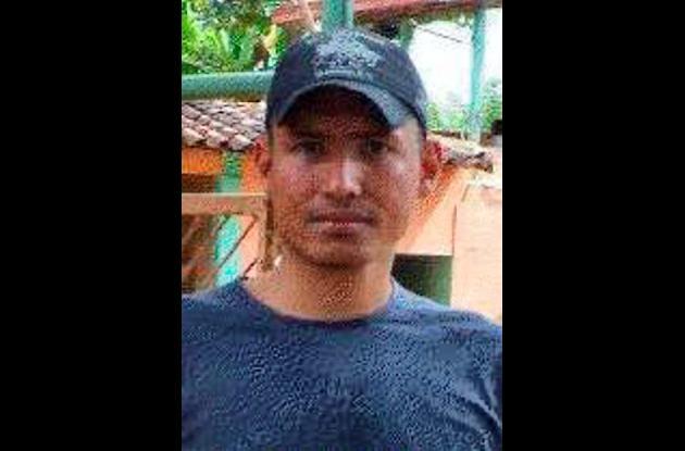 Juan Guillermo Bravo, asesinado en Medellín.