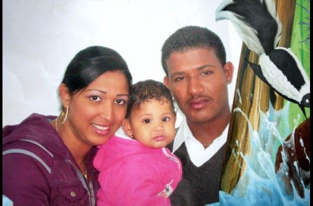 Yeini Pastrana Martínez y su esposo, Jean Carlos Rosales. Ambos murieron.