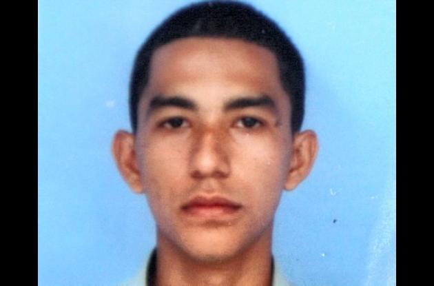 Héctor Eloy Cabeza Tobías, patrullero.