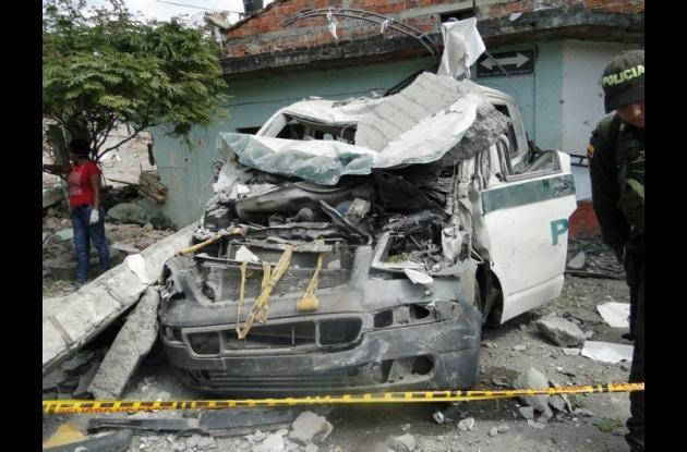 Atentado terrorista de las Farc en Villa Rica, Cauca