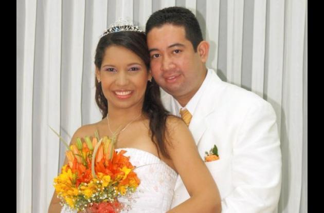 María Teresa Rubio Sotomayor y Rodrigo Antonio Espitia Quintero contrajeron matrimonio.