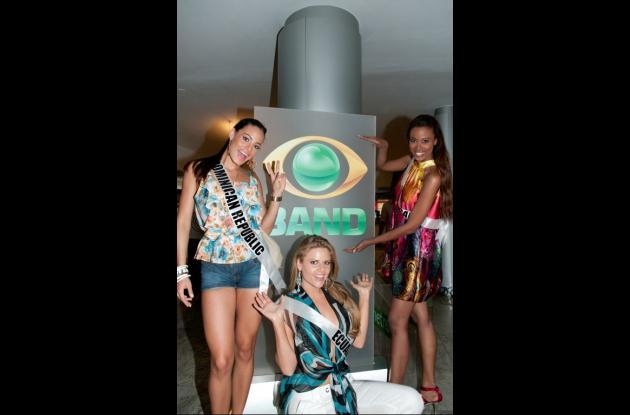 Miss Universo: De paseo por Sao Paulo