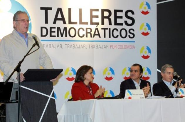 Talleres Democráticos con Álvaro Uribe