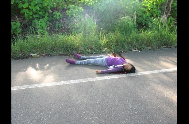 cuerpo sin vida de una mujer, hallado en la vía Buenavista – Planeta Rica