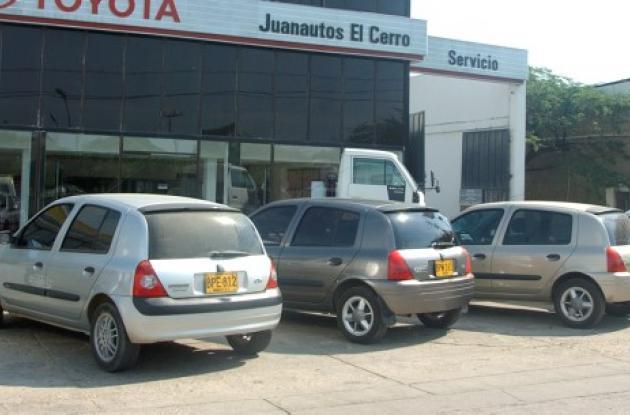 Carros vendidos en Colombia