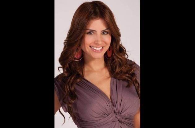 Jessica Cediel participó en le concurso de Señorita Bogotá