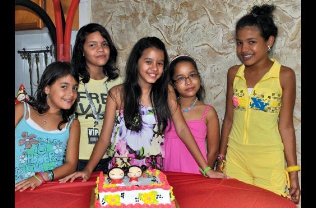 Cumpleaños de Sofía Alandete