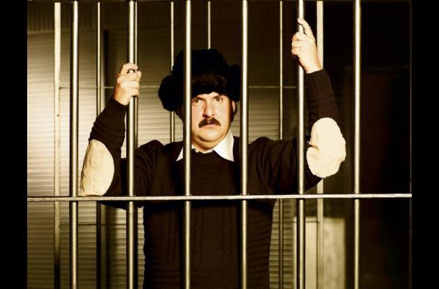 El actor Andrés Parra en el papel de Pablo Escobar.