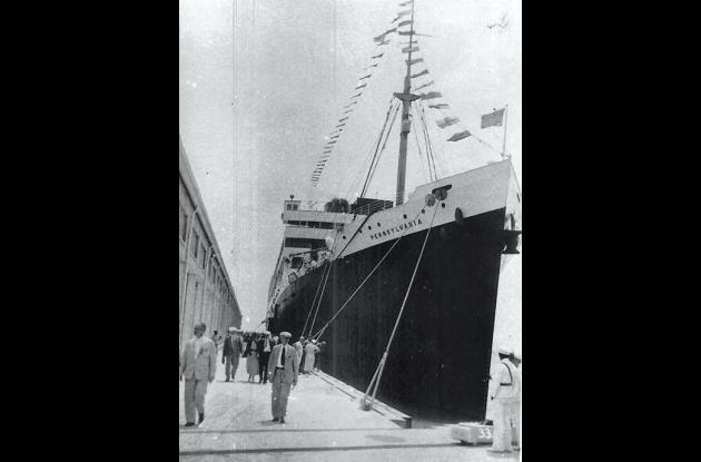 El Terminal Marítimo de Cartagena en 1934.