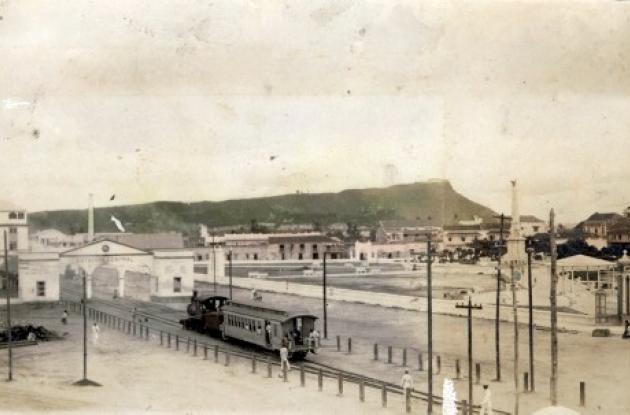 El tren que partía de Cartagena a Calamar, entre 1894 a 1950.
