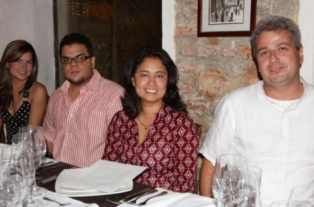 María Elena Pinto, Ricardo Diazgranados, Raquel Pérez y Rodrigo Jaramillo.
