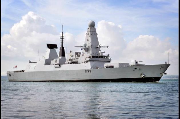 Buque de guerra británico zarpó al Atlántico Sur