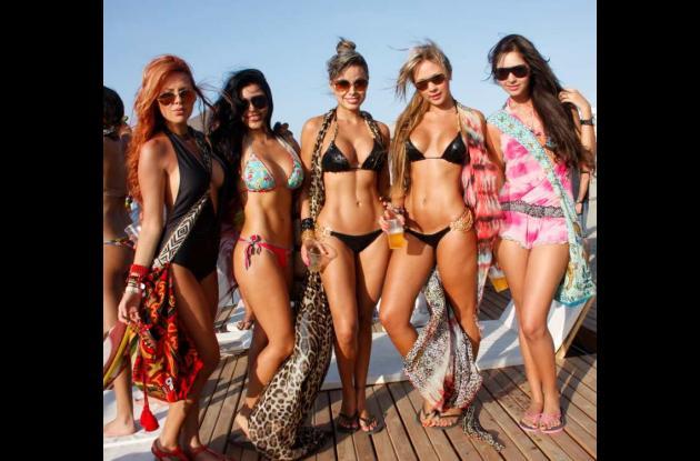 Vacaciones en la playa del Hotel Las Américas