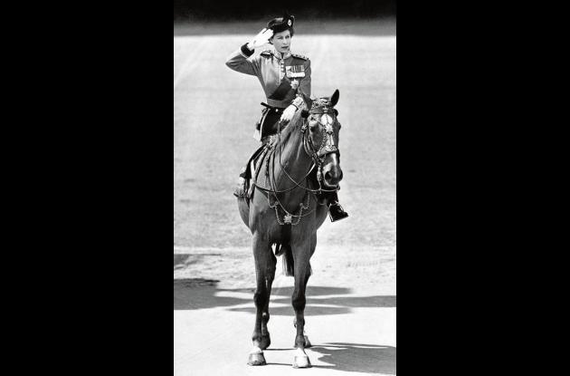 Los caballos siempre han sido de una de las aficiones de la reina.