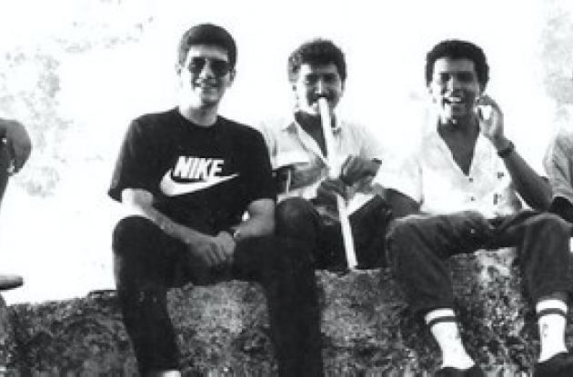 Estudiantes de Arquitectura de la Tadeo Lozano, años 80.