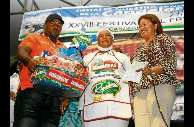 Premiación del Festival del Frito cartagenero