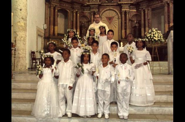 Primeras Comuniones del colegio Nuestra Señora de Fátima