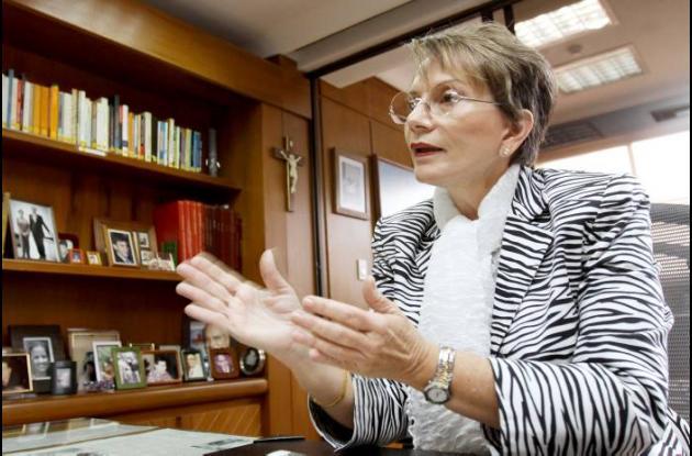 Ana Mercedes Gómez, directora de El colombiano