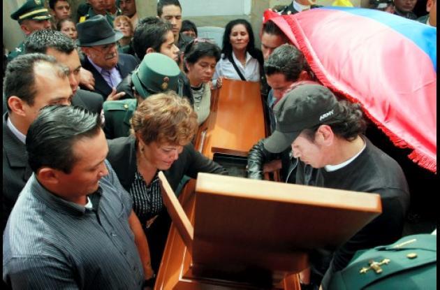 Familiares del soldado Domínguez lamentan su muerte