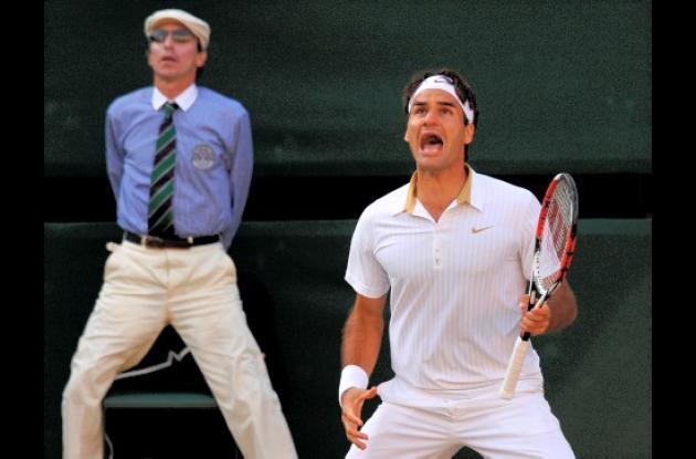 El rey del tenis Roger Federer regresó a su trono.