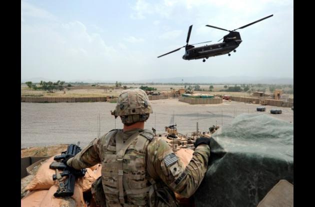 Avión estadounidense derribado en Afganistán por talibanes