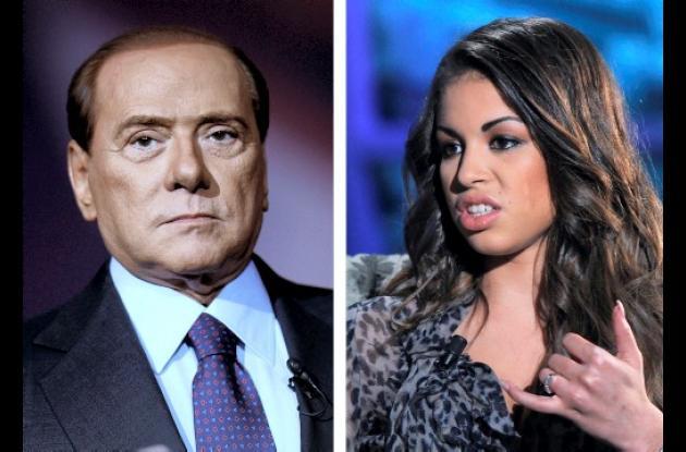 Silvio Berlusconi y Ruby robacorazones