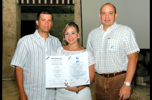Certificación de Comfenalco
