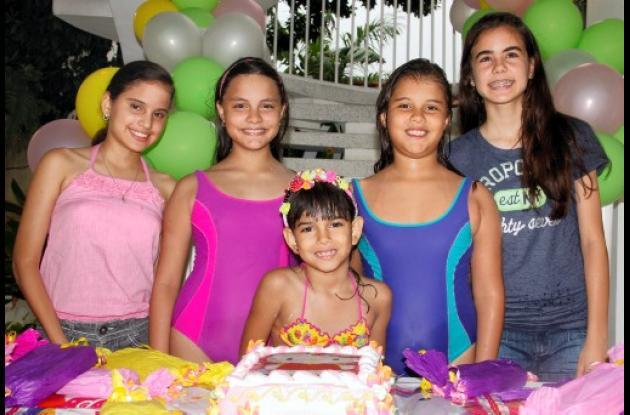 Cumpleaños de María Teresa y María Emilia Percy