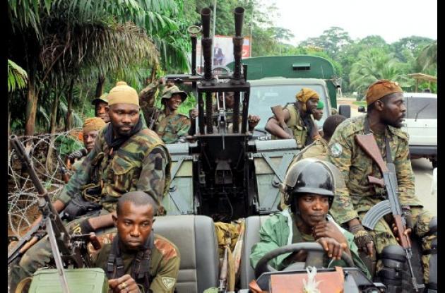 Tropas de Alassane Ouattara en Costa de Marfil
